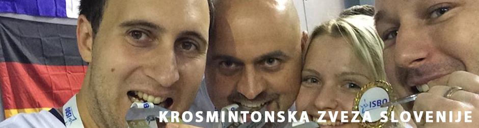 Krosmintonska zveza Slovenije